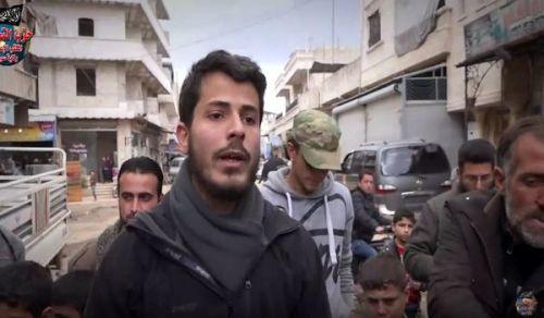 ولاية سوريا: مظاهرة في الدانا ضد الهدن والمفاوضات