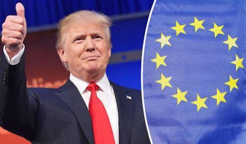 جواب سؤال: الأزمة السياسية والاقتصادية بين ترامب وأوروبا وبخاصة ألمانيا