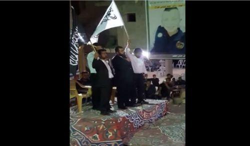 فلسطين:وفد من شباب حزب التحرير يقدم واجب العزاء بالشهيد رائد ردايدة