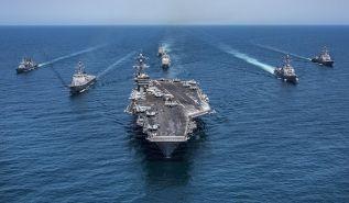 يجب أن نرفض دخول المجرمة أمريكا مياهَنا الإقليمية والتلاعب بقواتنا العسكرية للحفاظ على أمنها وهيمنتها في جنوب شرق آسيا