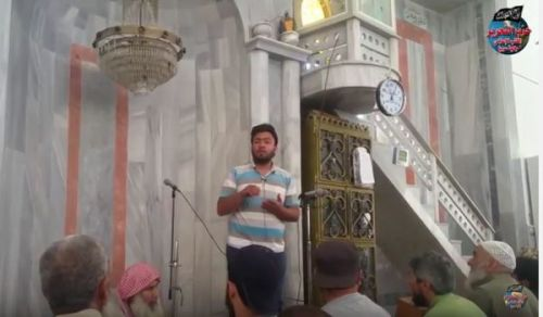 """ولاية سوريا: كلمة مسجد """"هل سنلدغ مرة أخرى من أعدائنا؟!"""""""