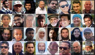 مذبحة 49 مسلما خلال صلاة الجمعة