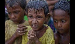 بعد أن تخلت عنهم الأنظمة الخائنة في البلاد الإسلامية   اللاجئون من نساء وأطفال الروهينجا المسلمين يواجهون المجاعة والمرض والموت في بنغلاديش