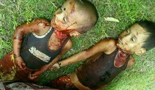أطفال الروهينجا يتعرضون للعنف على أيدي البوذيين! فهل من ناصر لهم؟