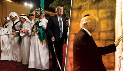 جواب سؤال: تداعيات زيارة ترامب إلى السعودية وفلسطين المحتلة!