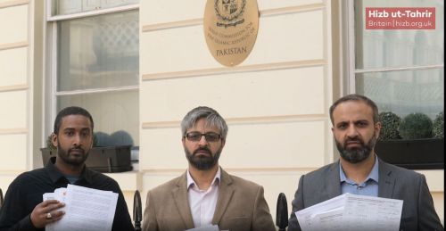 Hizb ut Tahrir / Britain Delegation to the Pakistan High Commission in London