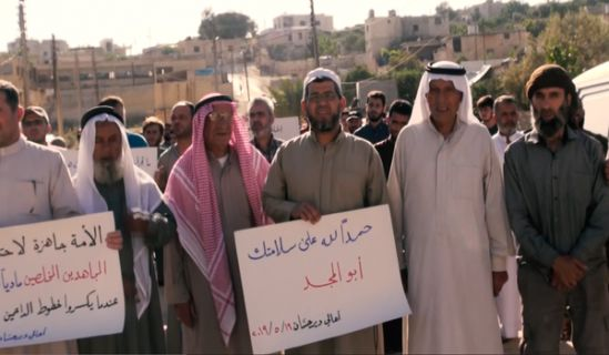 Minbar Ummah: A warm reception for Brother Zuhair Abdel Raouf (Abu al-Majd) after the release from the prison of  Hayat Tahrir Ash Sham