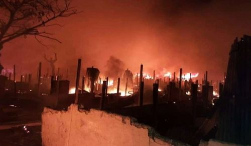 Massive Fires in Rohingya Refugee Camps Reveal Hasina Government's Negligence and Failures