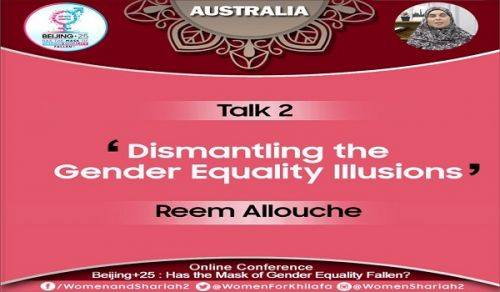 Beijing+25: Has the Mask of Gender Equality Fallen?  TALK 2 - Dismantling the Gender Equality Illusions