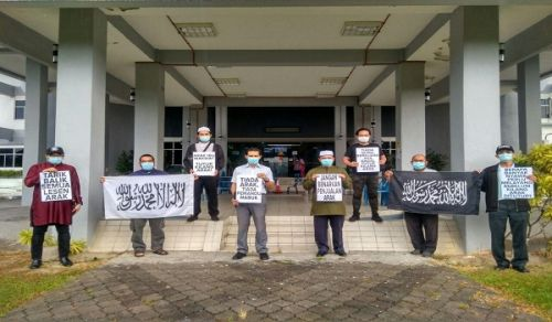 Malaysia: Part of Campaign Activities, Close Liquor Factories, the Handing of a Letter to Local Authorities