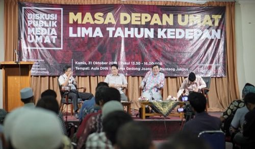 Media Umat Tabloid Discussion:  The Future of the Ummah in the Next Five Years, Indonesia is More Gloomy
