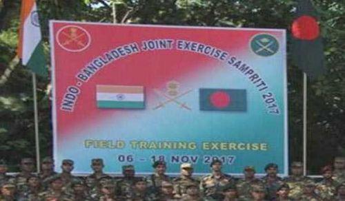 Joint Military Exercise 'Sampriti 2017':  Resist Deceptive Ploy to establish Indian Dominance over Bangladesh Army