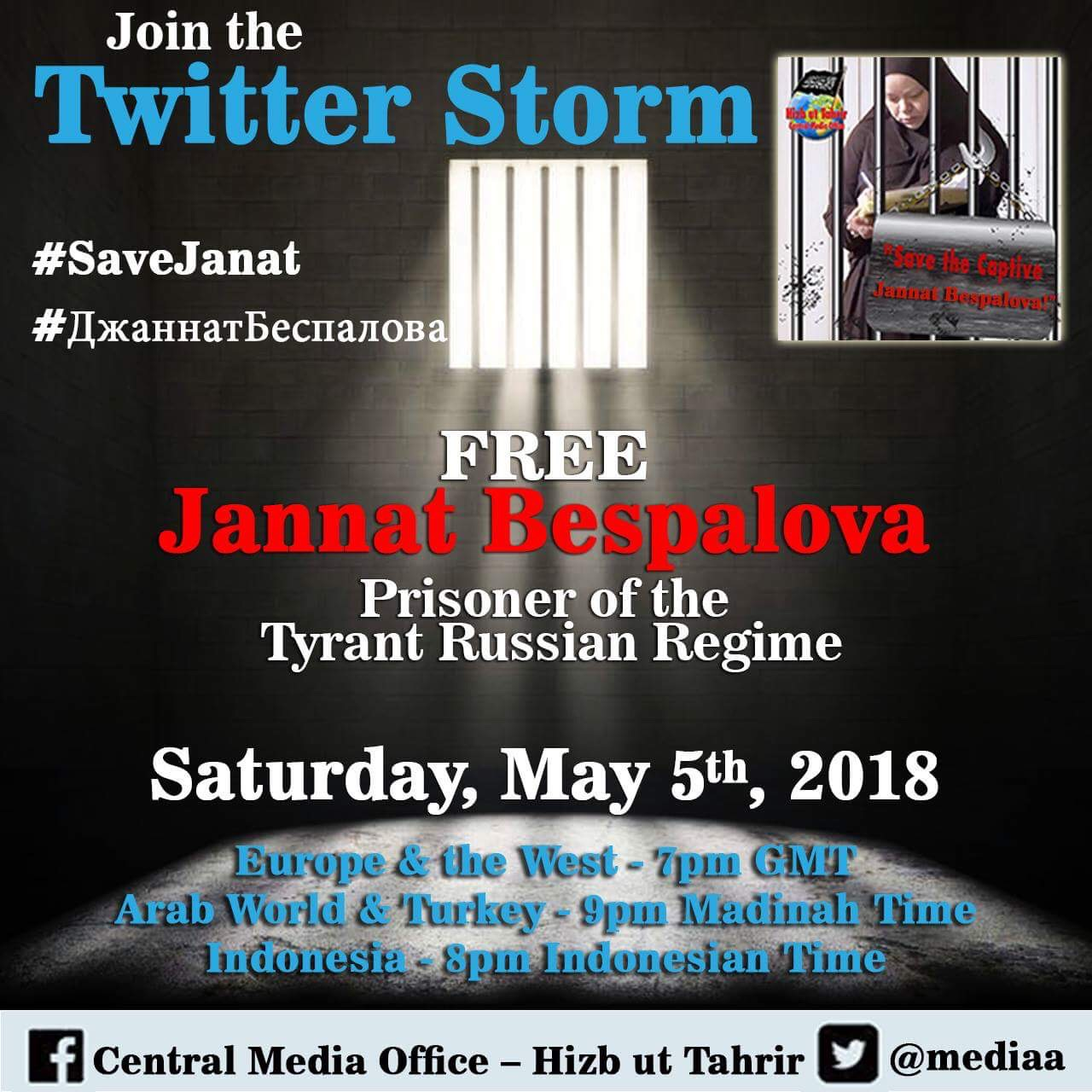2nd Twitter Storm Jannat 5th May 2018 EN