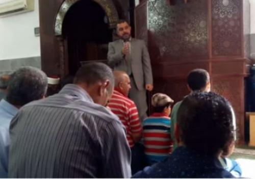 """Hizb ut Tahrir Palästina (das heilige Land): Moscheerede """"Das Festhalten am Din ist vorrangig, das Unvermögen kommt jedoch vor Verdorbenheit"""""""
