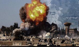 شهر غوطه در حال نابود شدن است و حتی زنان در جهاد سهم میگیرند؛ پس کجا است اردوی مسلمانان؟!