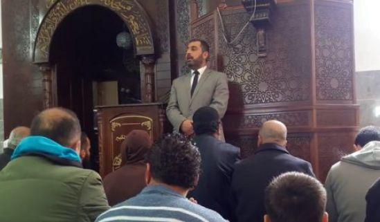 """فلسطین: پیامی از مسجد """"اهل فلسطین هر گز به غیر از الله سر تعظیم فرو نمی برند و لو که حکومت آنان را سرکوب نماید!"""""""