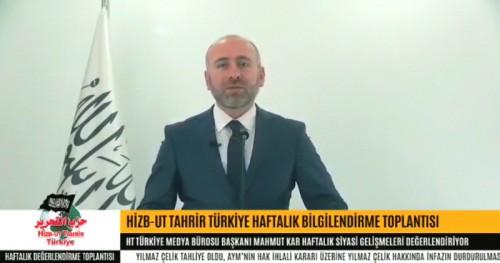 Türkiye Vilayeti: Haftalık Bilgilendirme Toplantısı 20/11/2018