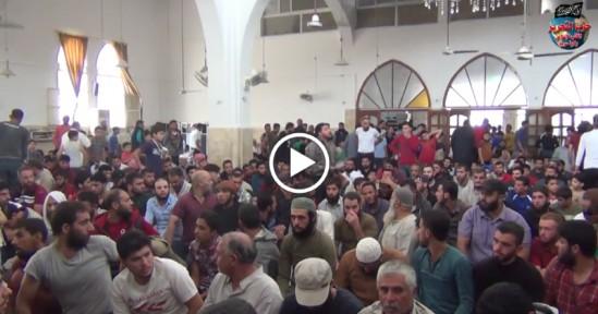 """Suriye Vilayeti: Mescid Konuşması; """"Soçi Anlaşması Komplosunun Gerçekliği!"""""""